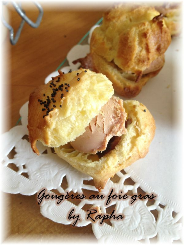 goug res au foie gras recette avec ou sans thermomix derri re mes fourneaux. Black Bedroom Furniture Sets. Home Design Ideas