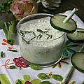 Smoothie au concombre et oignon nouveau