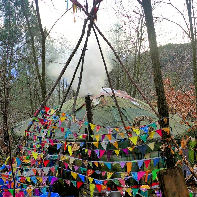 yourte d'hiver yurtao