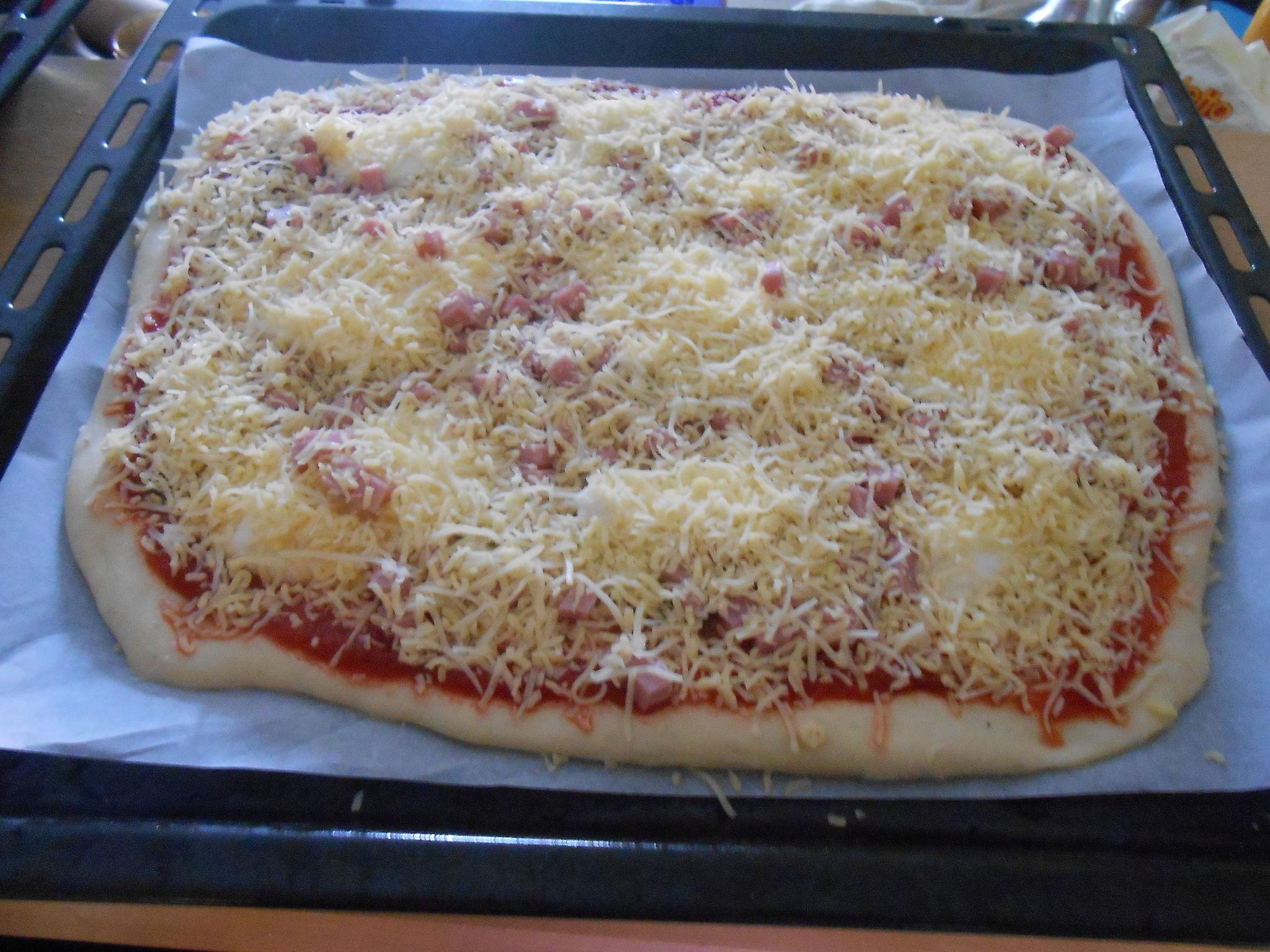 Recette Pate Pizza Maison Best Pizza Au Poulet La Mexicaine La