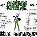 Antonio superstar - 22/07/12
