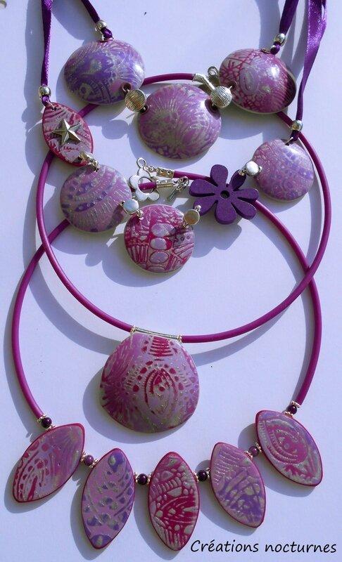 rose violet la totale