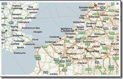 ostende carte belgique