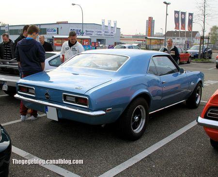 Chevrolet camaro SS coupé de 1968 (Rencard Burger King avril 2012) 01