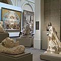 un quartier de la galerie des sculptures