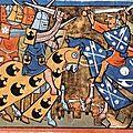 Croisade de guillaume ix le troubadour, grand-père d'aliénor d'aquitaine et premier poète connu en langue occitane.