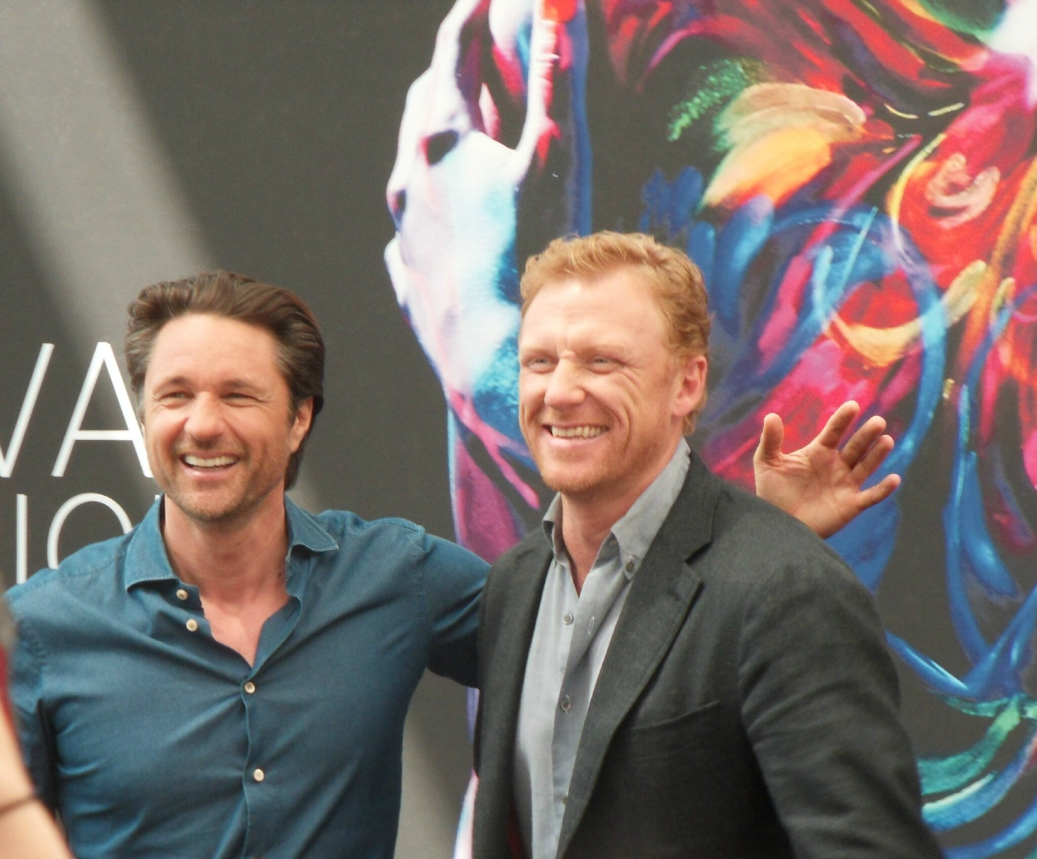 Monte Carlo 2016 - Martin Henderson & Kevin McKidd