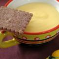 Petites crèmes citronnées au yaourt de brebis, sans blé, sans lait de vache