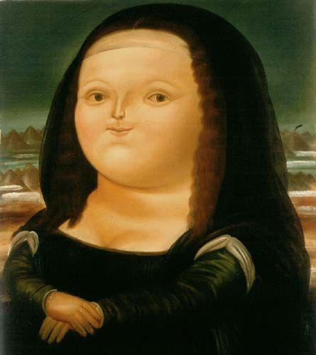 Mona Lisa - E. Botero