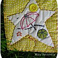 Miss Butterfly, bloc 6. Les Projets de Miss Butterfly : http://lesprojetsmissb.canalblog.com/
