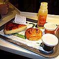 Petit déj' sur les Champs, décembre 2012, flan au Mc Do ! 8 heures du mat' !