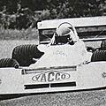 Jean Lapierre Chevron B 42 BMW 2 litres 1979