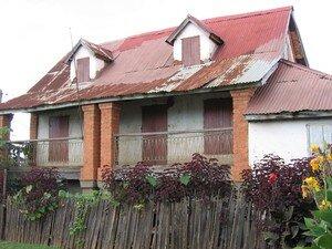 Maison traditionnelle malgache (Hauts-Plateaux)