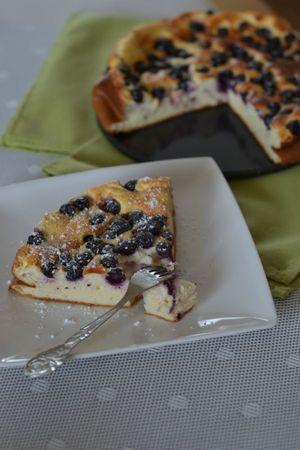 Gâteau 0% au fromage blanc aux myrtilles (26)