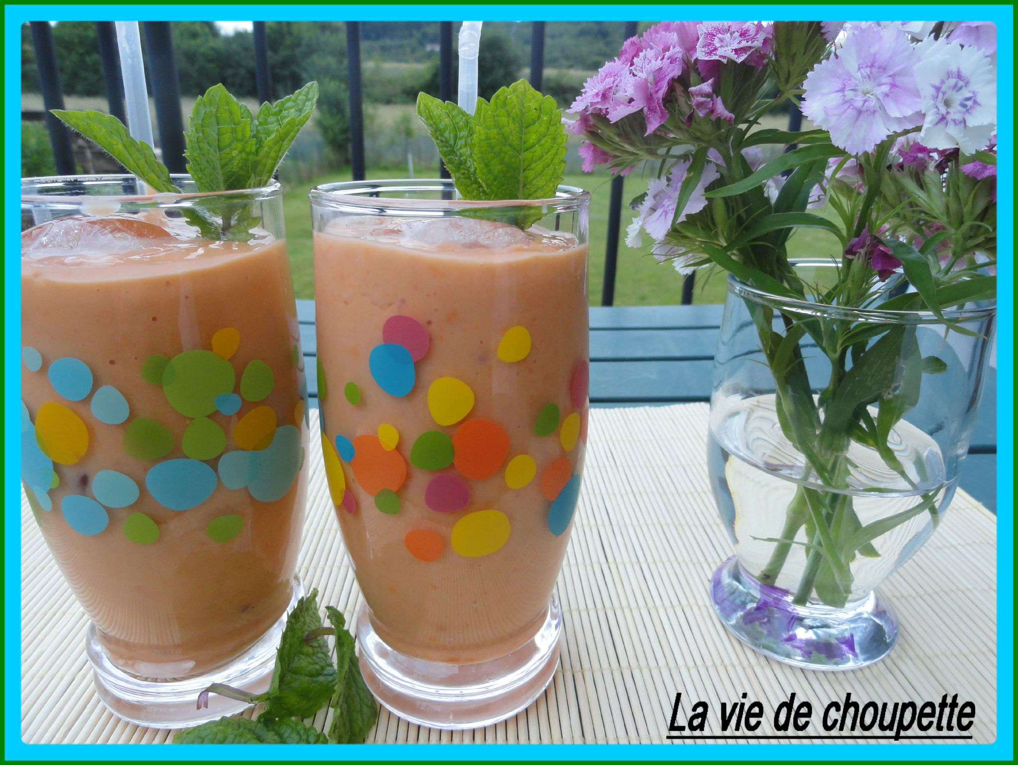 SMOOTHIE PECHES-ABRICOTS