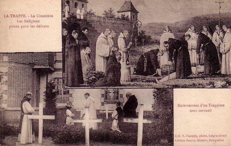 Trappe prière pour défunts