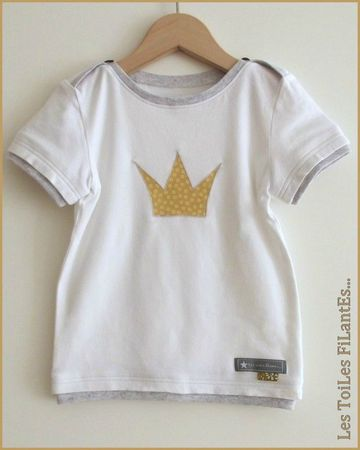 03-Tee-shirt couronne et pantacourt moutarde5