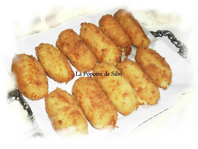 croquettes de pommes de terre la popotte de silvi. Black Bedroom Furniture Sets. Home Design Ideas