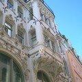 Facade de style neo-gothique