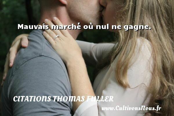 Citation Thomas Fuller