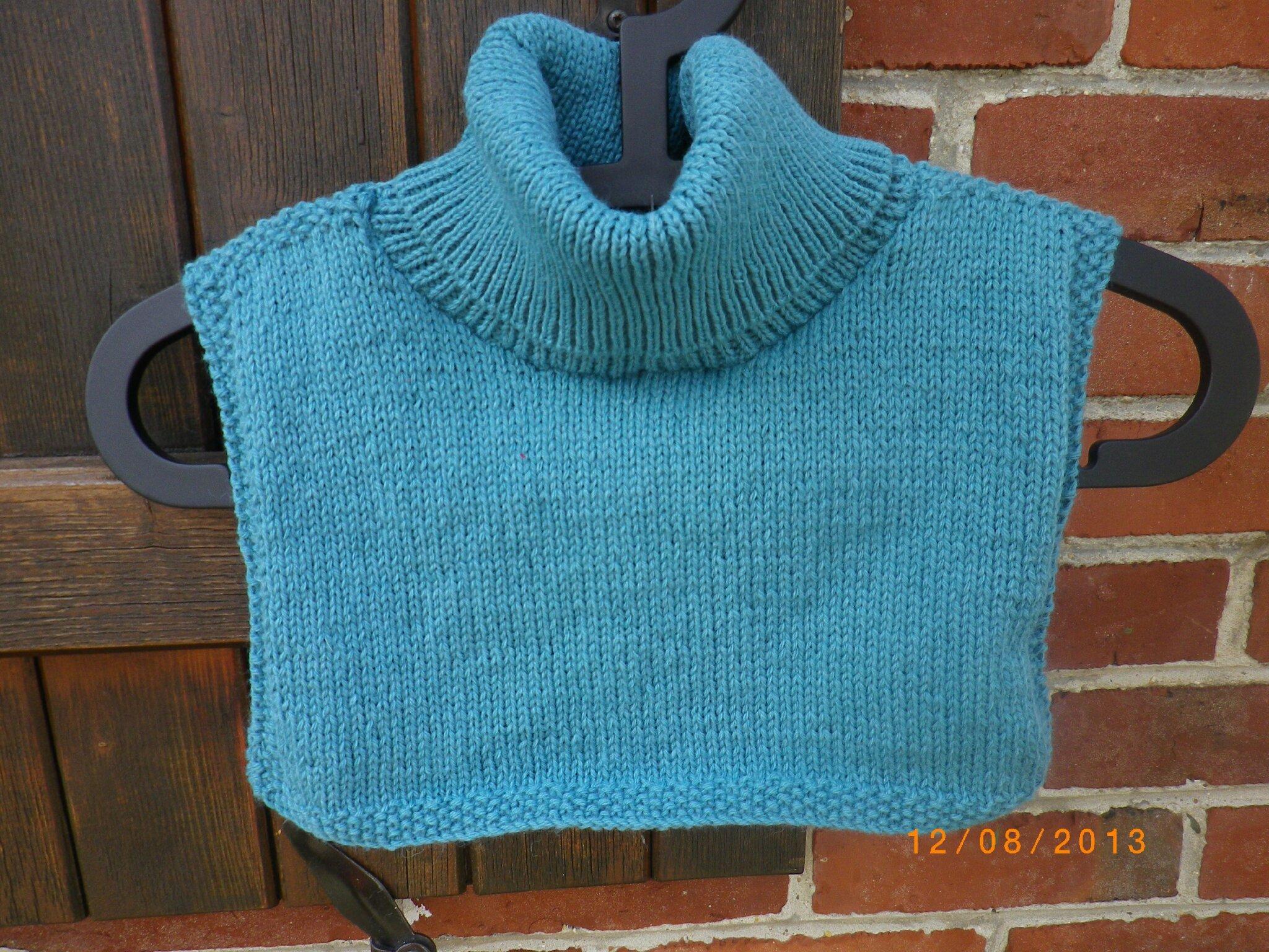 comment tricoter un plastron