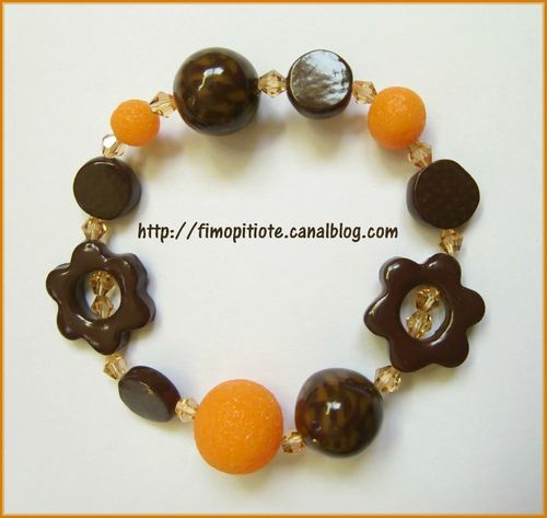 Bijoux pate fimo collier bracelet boucles d oreilles (47)