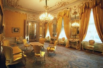 Habsburg Staterooms In The Albertina Palace Vienna