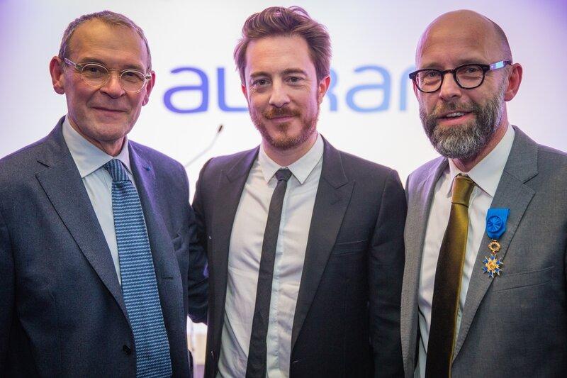 Jean-Jacques Aillagon, Philippe Zorzetto et Frédéric Fougerat