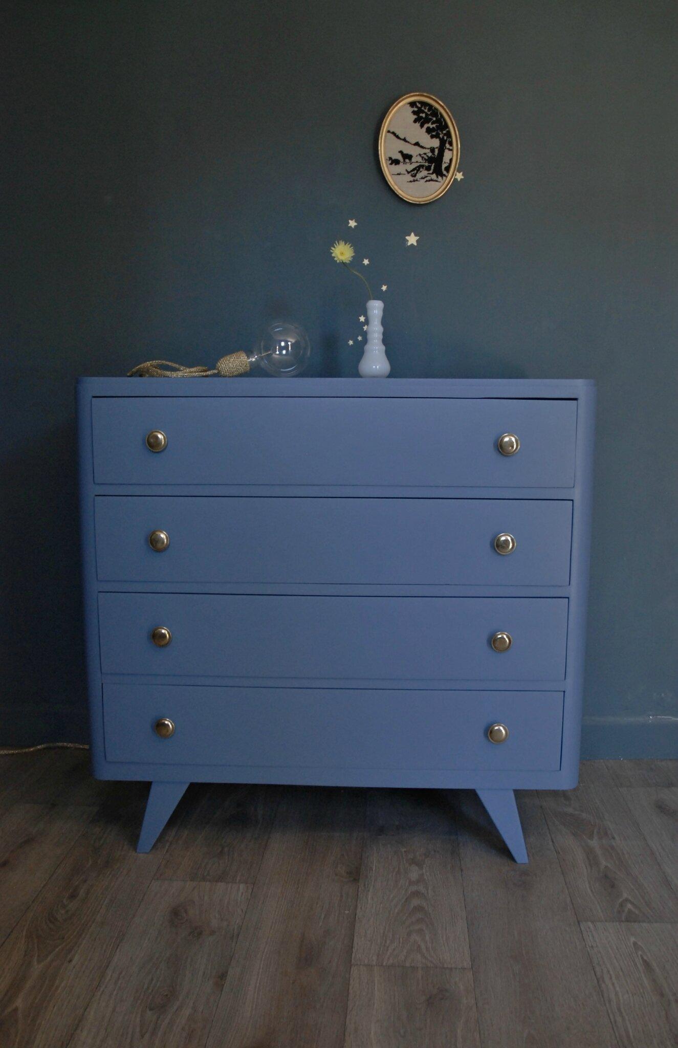 commode pieds compas vendue atelier vintage. Black Bedroom Furniture Sets. Home Design Ideas
