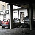 Retour sur un fait divers : l'incendie de véhicules automobiles dans une cour d'immeuble avenue carnot...
