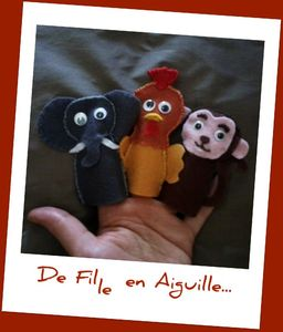 Finger Puppets Animaux 2