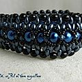 Bracelet Grey in Blue