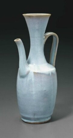 A rare Junyao ewer, China, Song-Yuan dynasty, 13th-14th century