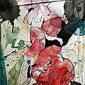 Compositions crayon et aquarelles (9)