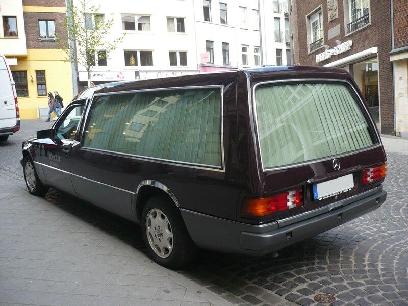 MERCEDES W140 corbillard Aix la Chapelle (2)
