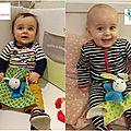 Duo de cadeaux pour un duo de bébés craquants!!!!