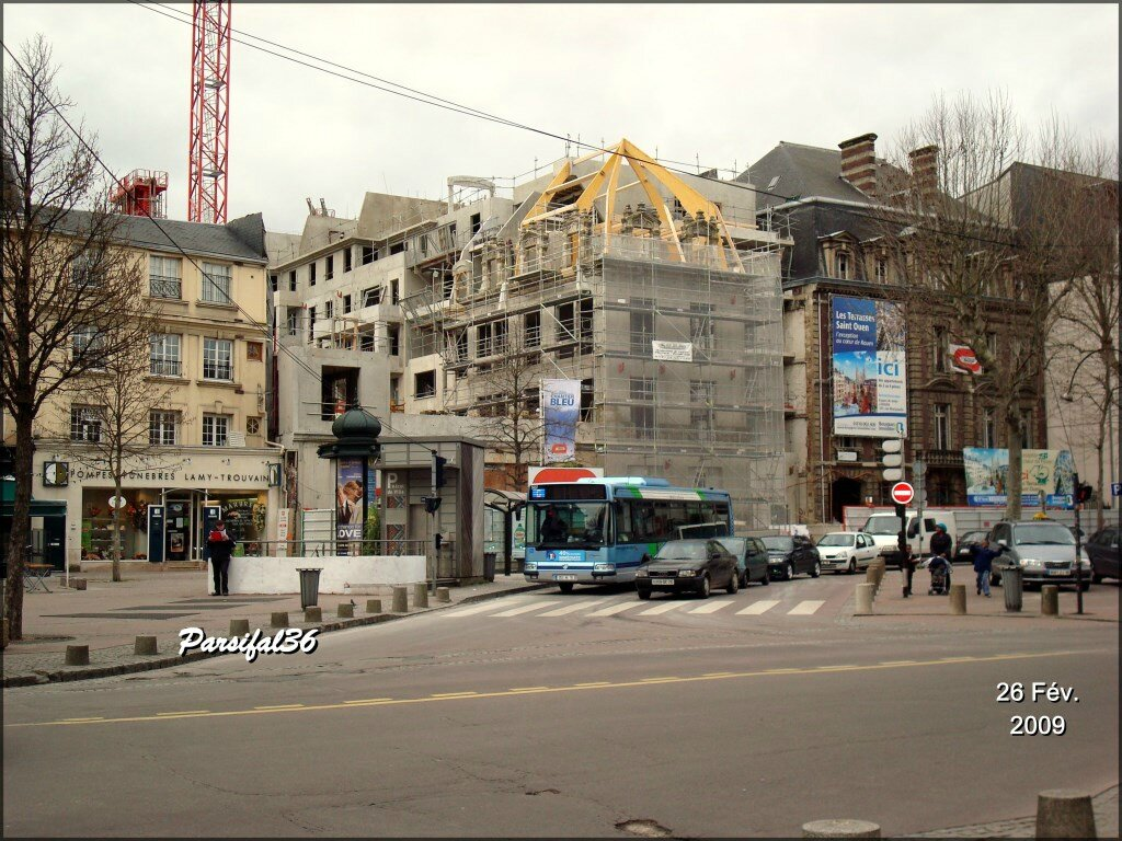 Place du g n ral de gaulle 1 rouen before after blog - Agence saint ouen rouen ...