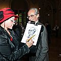 Cocktail soire d'entreprise - caricaturiste