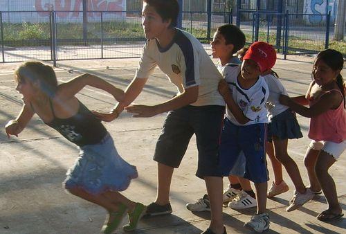 El deporte con el tío Hernán en la Sagrada Familia