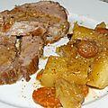 Le rôti de porc cocotte & ses pommes de terre de lola