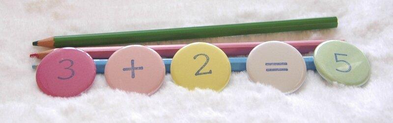 Brodi Broda- aimants chiffres-nombres aimantés-couleurs