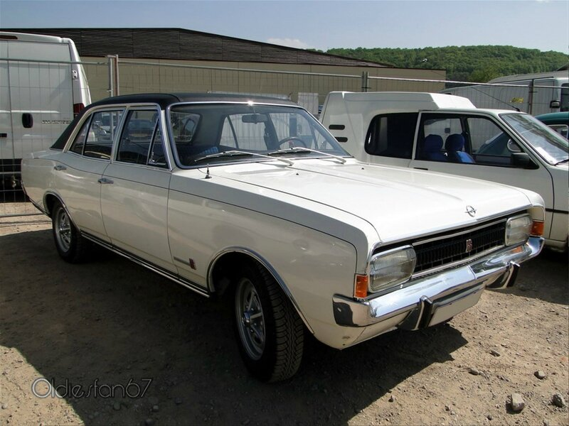 opel commodore gs serie a berline 1967 1971 a