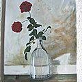 1ère toile (peinture acrylique )