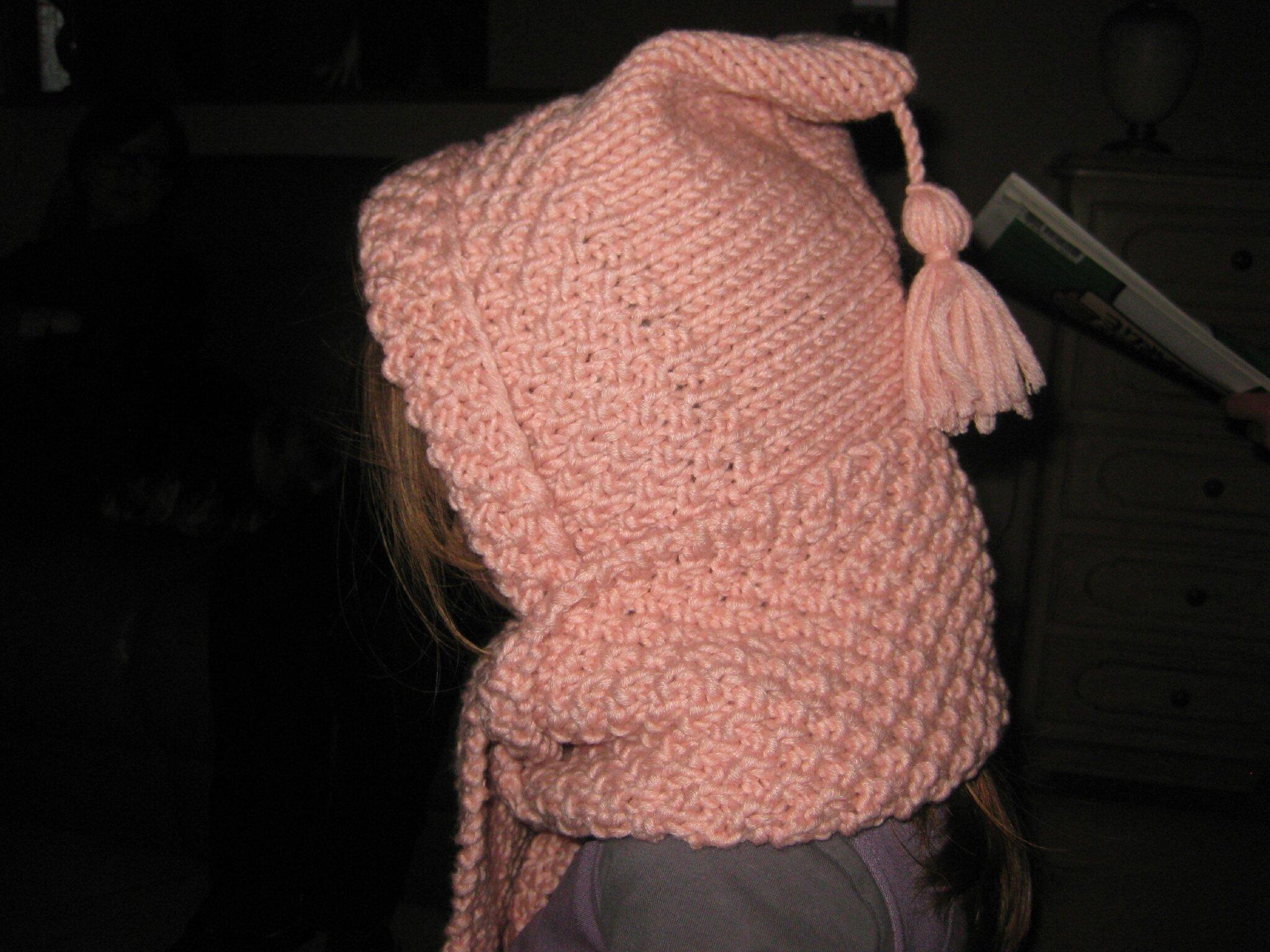 Tuto echarpe capuche tricot - altoservices b890466ffe3