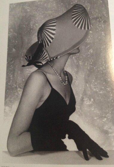 femme élégante chapeau