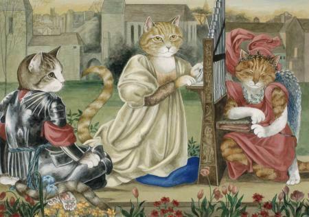 4 les chats de Susan Herbert série 4 (5)