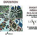 Exposition et ateliers patchwork à salleboeuf.