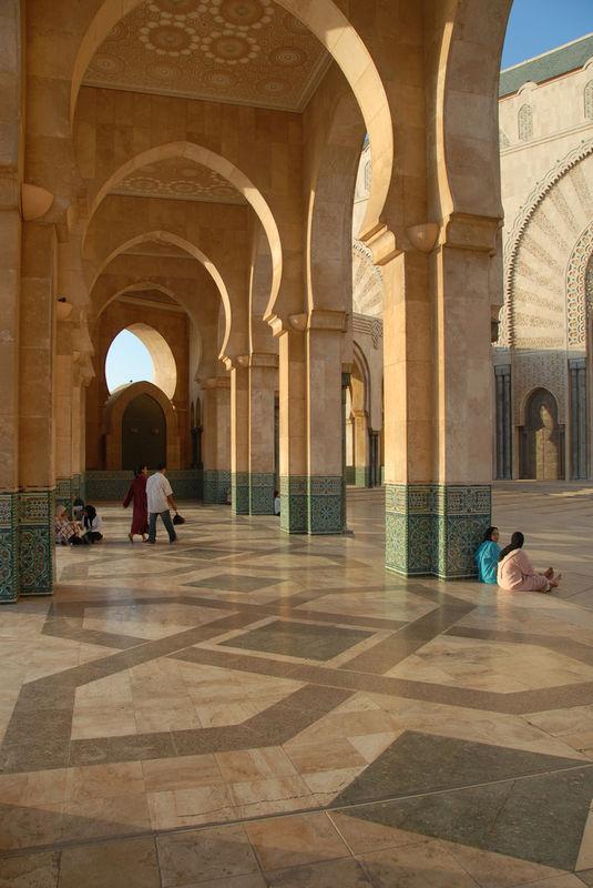 Esplanade de la Mosquée Hassan II Casablanca