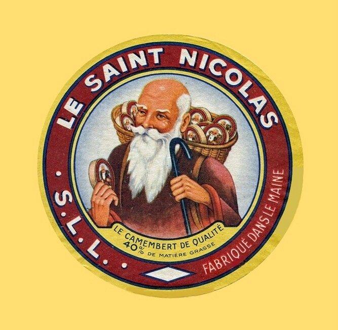 Etiquette fromage SSL Saint-Nicolas