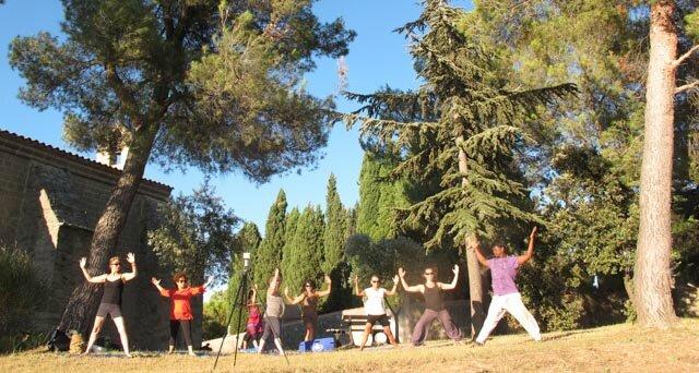 Stage été 2016 Pilates et yoga en Provence
